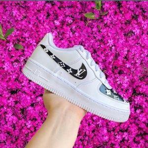 Nike custom air force 1 sneakers